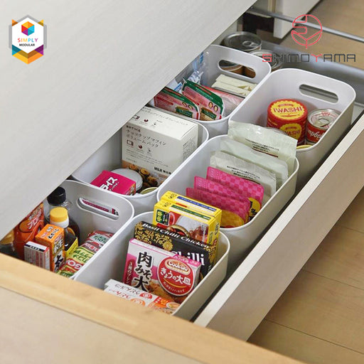 Shimoyama PE Storage Box Soft Touch Deep Size (no lid) - Size A