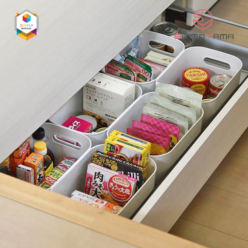 Shimoyama PE Storage Box Soft Touch Big Deep Size (no lid) - Size C