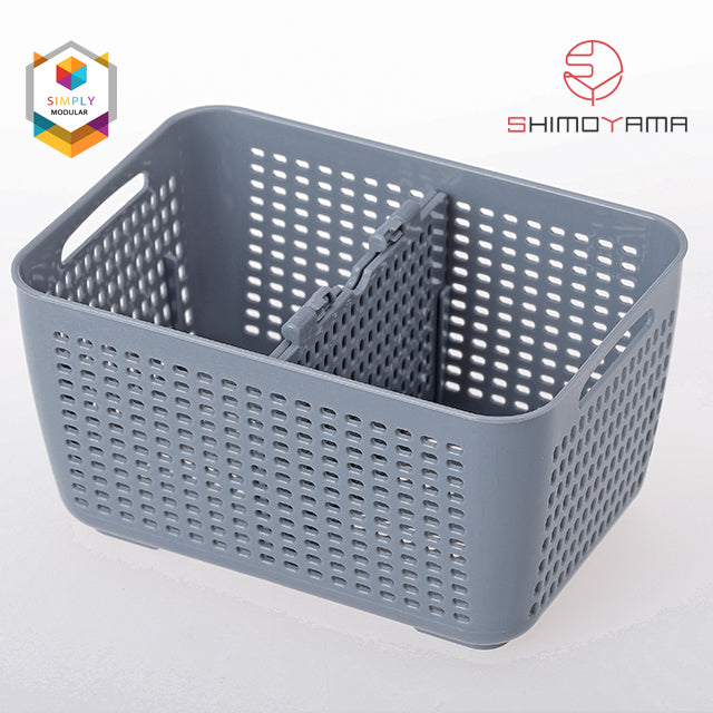 Shimoyama Large Gray Drain Basket