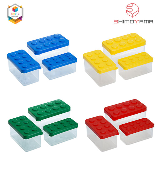 Shimoyama Lego Box Set of 3