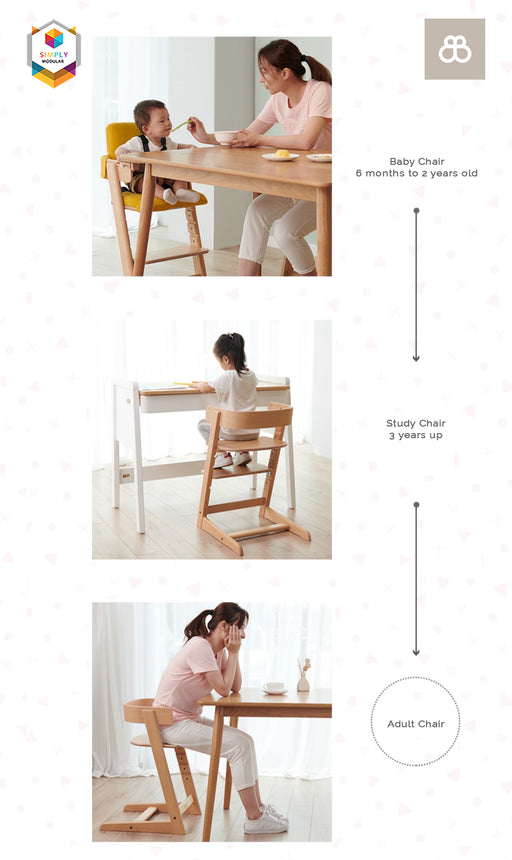 Boori Adjustable Tidy High Chair