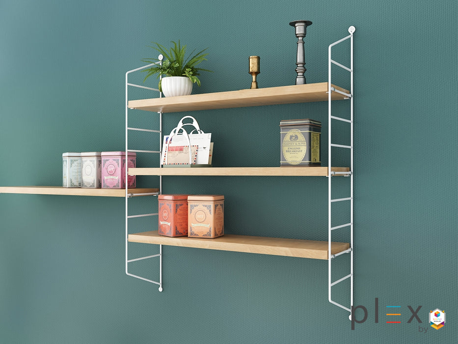 Plex 3-Level Shelving System