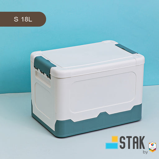 DuraStak Foldable Storage Box Size S - 18L Capacity