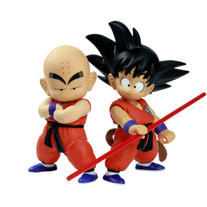 Dragon ball Z Goku and Krillin - Animeleaf