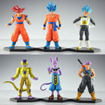 6 piece Dragon Ball Super Set - Animeleaf