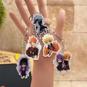Naruto Key Chains, 5 different choices - Animeleaf