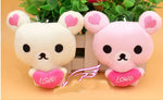 2 Piece Set Love Rilakkuma Plushes - Animeleaf