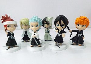 6 Piece Set, (6 Figures or 6 Keychains; 2 Options) - Animeleaf