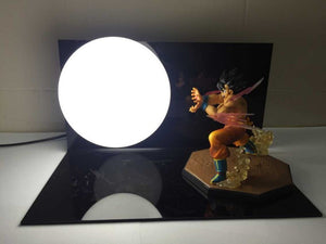 Dragon Ball Z Goku KAMEHAMEHA Desk Lamp - Animeleaf