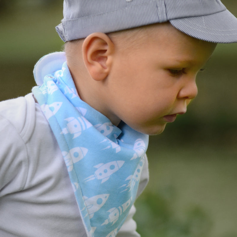 Space Adventure - Shop Silicone Feeding Bibs and more Baby Essentials Online