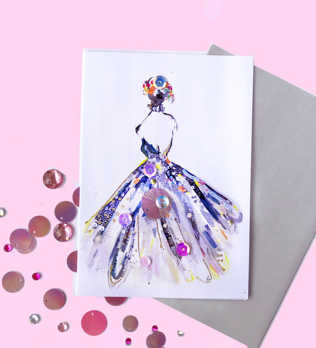 Glitter Gown Gift Card
