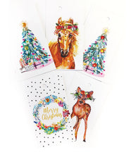 Mixed Christmas Gift Tag 5 pack