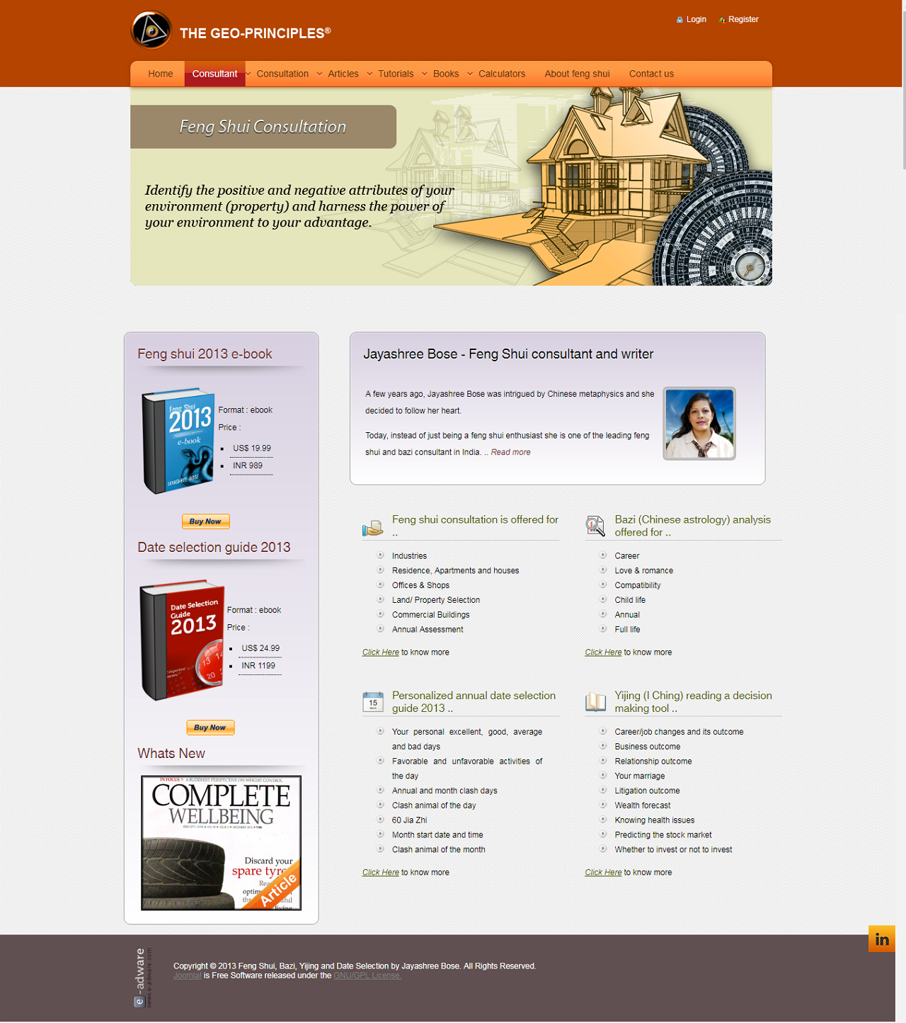 The Geo-Principles Website 2013