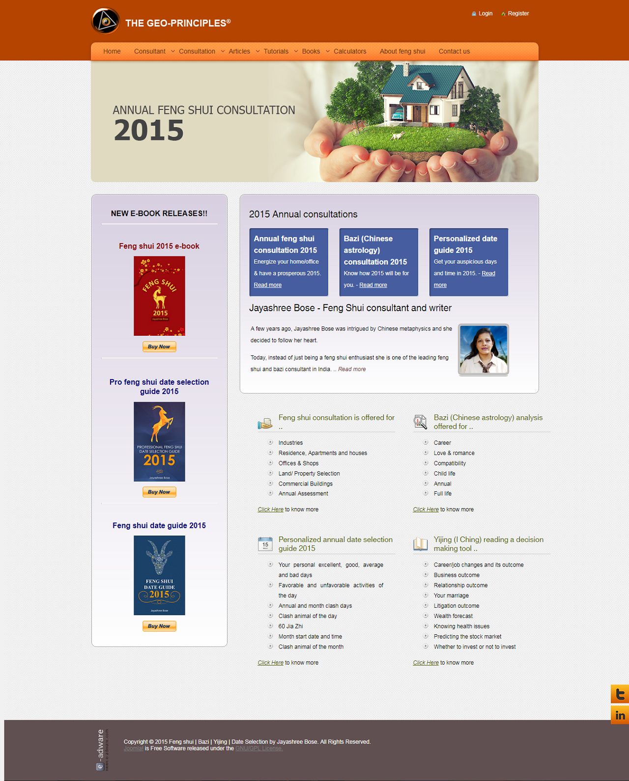 The Geo-Principles Website 2015