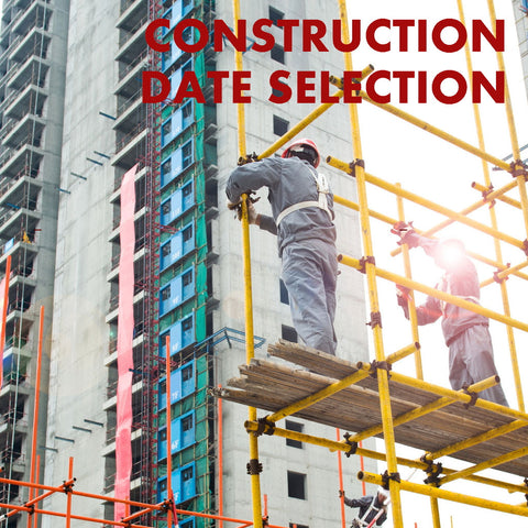 Date Selection for Construction/Renovation