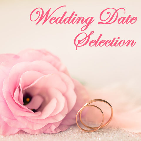 Date Selection for Wedding Ceremonies