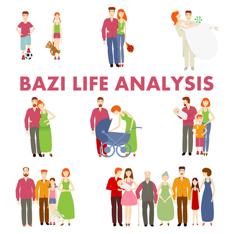Bazi Life Analysis (Full life)