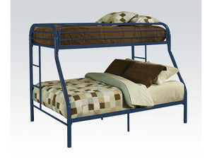 ACME Tritan Twin/Full Bunk Bed Blue - 02053BU-Bunk Beds-HipBeds.com