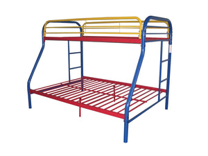 ACME Tritan Twin/Full Bunk Bed Rainbow - 02053RNB-Bunk Beds-HipBeds.com