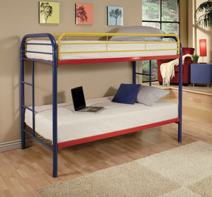 ACME Thomas Twin/Twin Bunk Bed Rainbow - 02188RNB-Bunk Beds-HipBeds.com