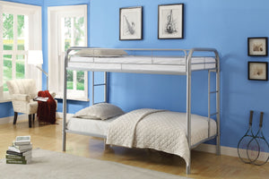 ACME Thomas Twin/Twin Bunk Bed Silver - 02188SI-Bunk Beds-HipBeds.com