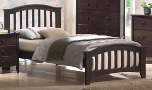 ACME San Marino Full Bed Dark Walnut - 04985F-Panel Beds-HipBeds.com