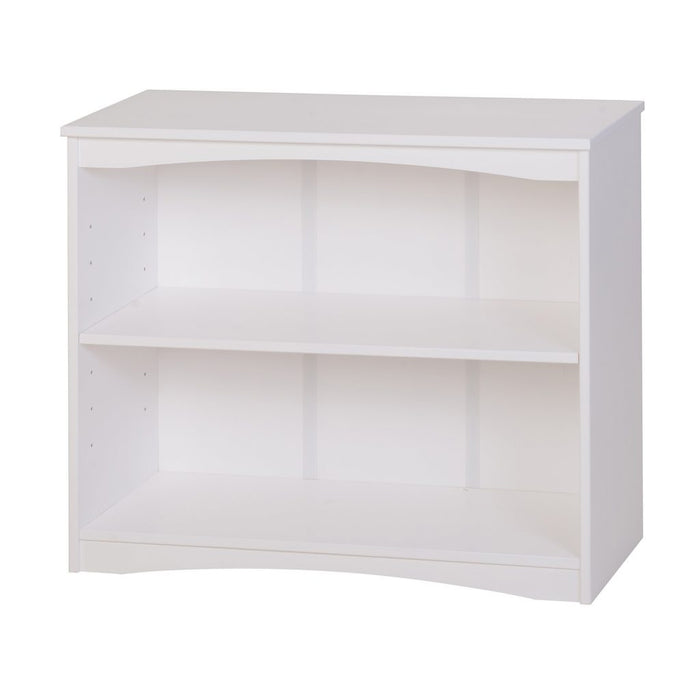 "Camaflexi Bookcase - Essentials Wooden Bookcase 36"" Wide - White Finish - 4183"
