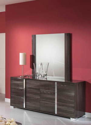 VIG Furniture Modrest San Marino Modern Grey Mirror