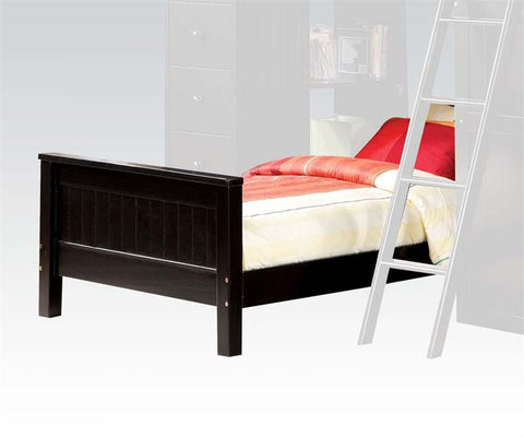 ACME Willoughby Twin Bed Black - 10988A-Sleigh Beds-HipBeds.com
