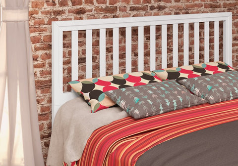 Donco Kids Full/Queen Headboard White 110F/QW-Headboards & Footboards-HipBeds.com