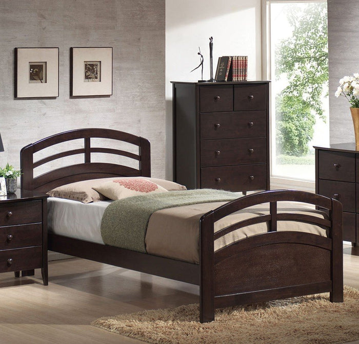 ACME San Marino Full Bed Dark Walnut - 14985F