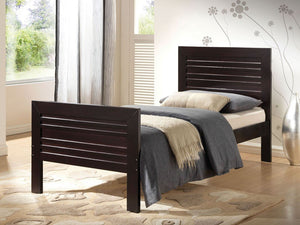 ACME Donato Twin Bed Wenge - 21524T-Sleigh Beds-HipBeds.com