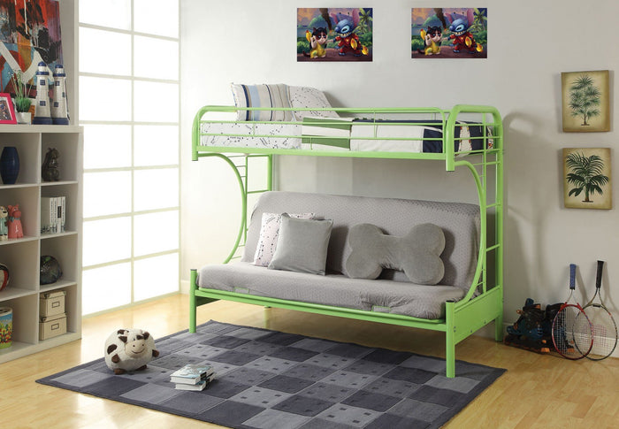 ACME Eclipse Twin/Full/Futon Bunk Bed Green - 02091W-GR