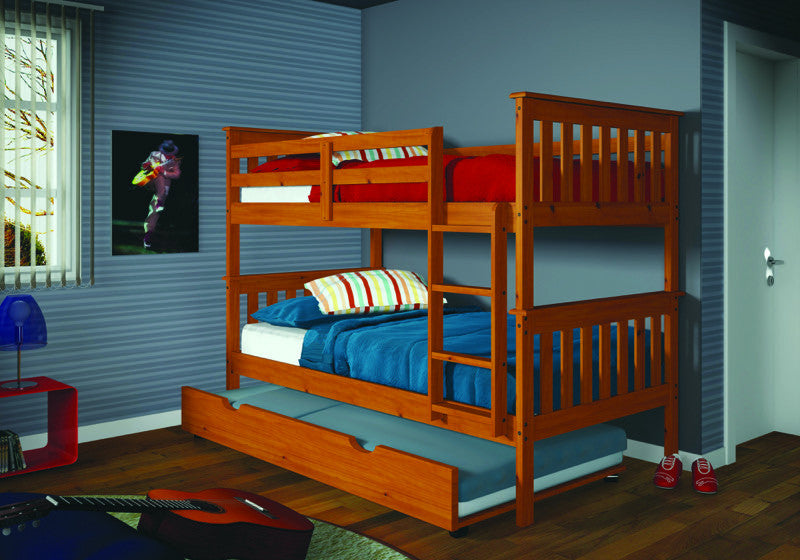 Lowest Price Donco Kids T T Mission Bunk Bed With Ladder