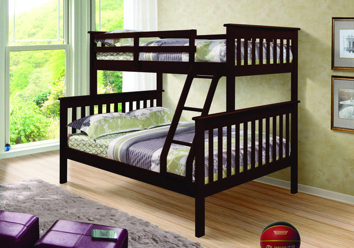 Donco Kids T/F Mission Bunk Bed 122-3CP