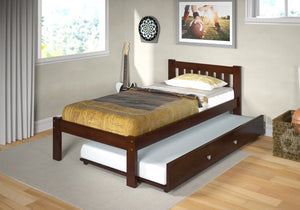 Donco Kids Twin Mission Bed 1510-TCP-Panel Beds-HipBeds.com