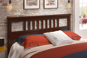 Donco Kids Full/Queen Headboard Cappuccino 160F/QCP-Headboards & Footboards-HipBeds.com
