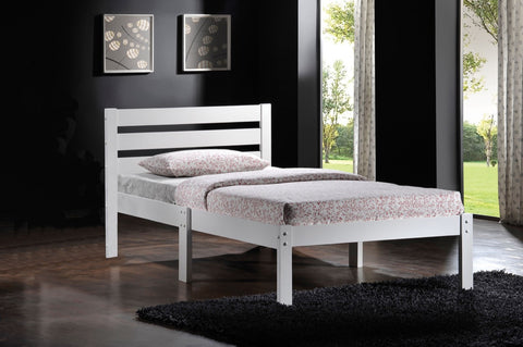 ACME Donato Twin Bed White - 21528T-W-Platform Beds-HipBeds.com