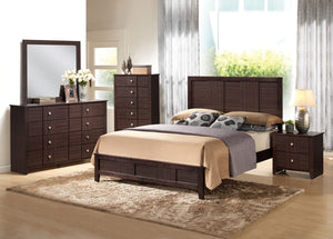 ACME Racie Eastern King Bed Merlot - 21937EK-Platform Beds-HipBeds.com