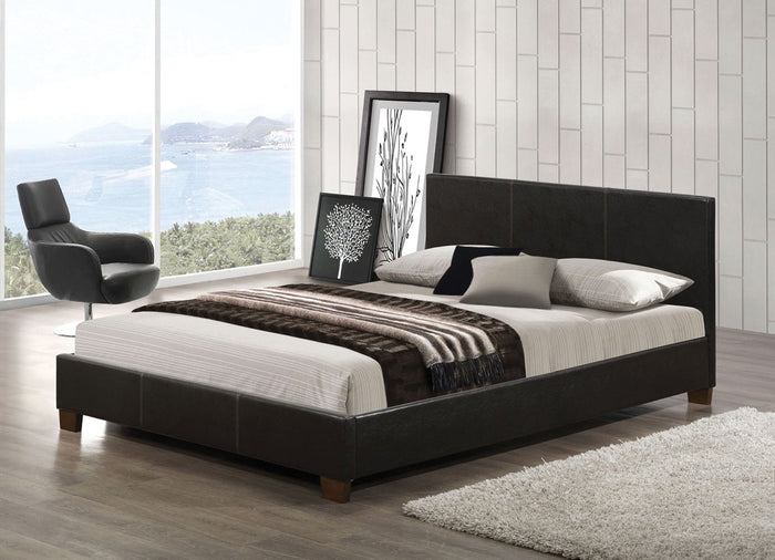 ACME Felisia Queen Bed Espresso PU - 24750Q
