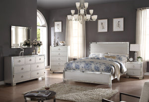 ACME Voeville II Eastern King Bed Platinum - 24837EK-Platform Beds-HipBeds.com