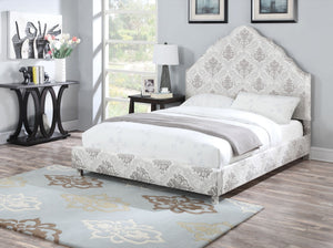 ACME Clarisse Queen Bed Fabric - 25020Q-Panel Beds-HipBeds.com