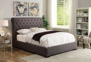 ACME Westmist Queen Bed Light Brown Linen - 25280Q-Platform Beds-HipBeds.com