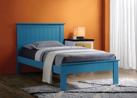 ACME Prentiss Queen Bed Blue
