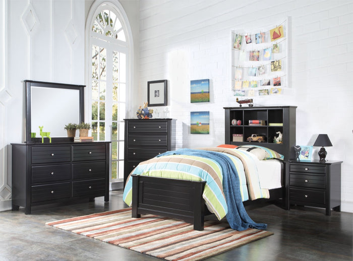 ACME Mallowsea Twin Bed Black - 30380T