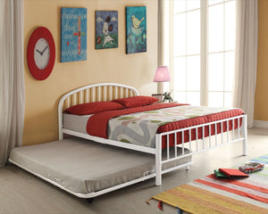 ACME Cailyn Full Bed White - 30465F-WH-Platform Beds-HipBeds.com