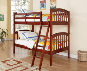 Donco Kids Columbia Cherry Bed 311-CH-Bunk Beds-HipBeds.com