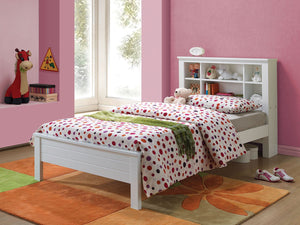 ACME Yara Twin Bed White - 37058T-Platform Beds-HipBeds.com