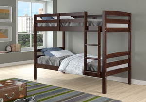 Donco Kids Twin/Twin Devon Arch Bunk Bed 4100-CP-Bunk Beds-HipBeds.com