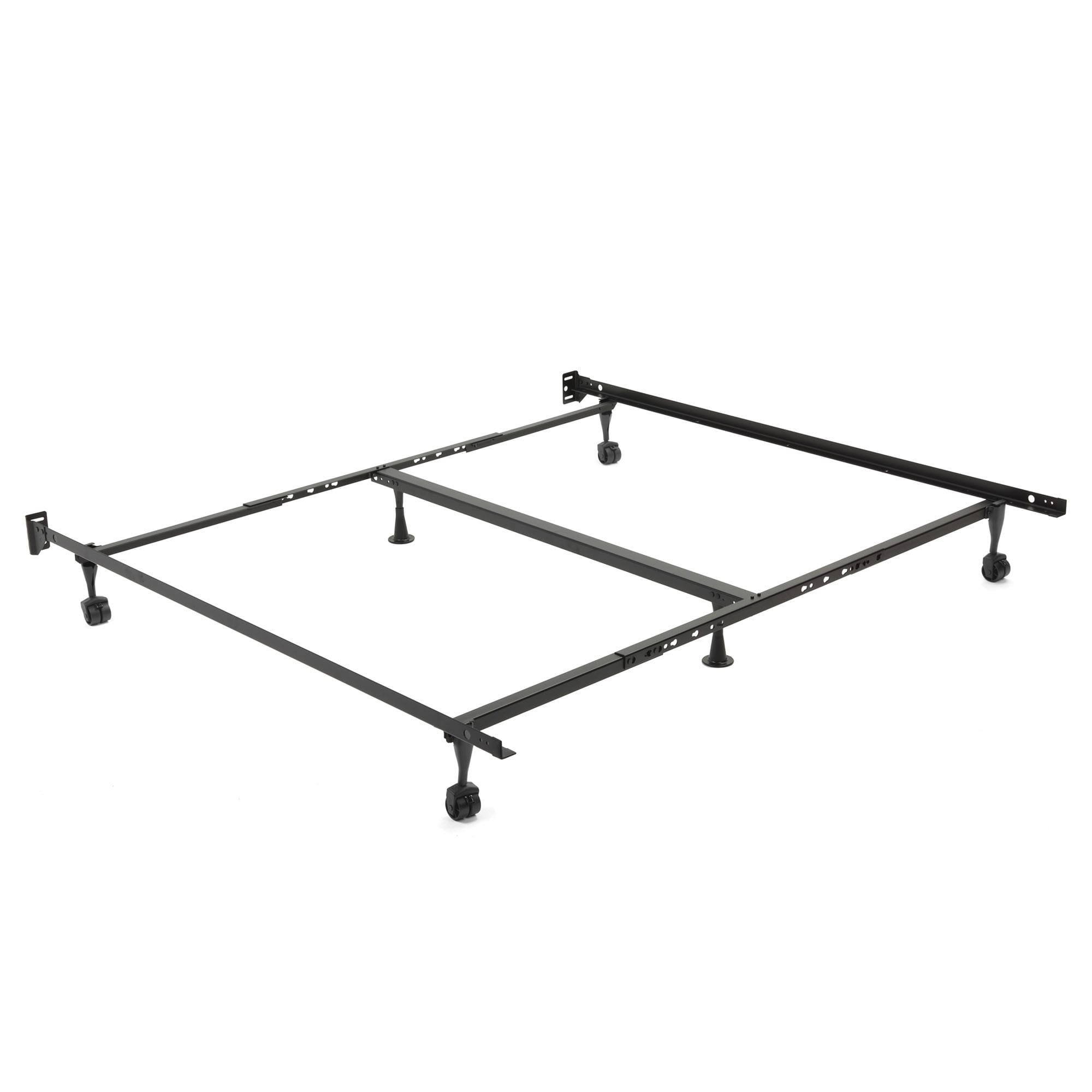Restmore Adjustable K45R Center Support Bed Frame w/ Fixed Headboard ...